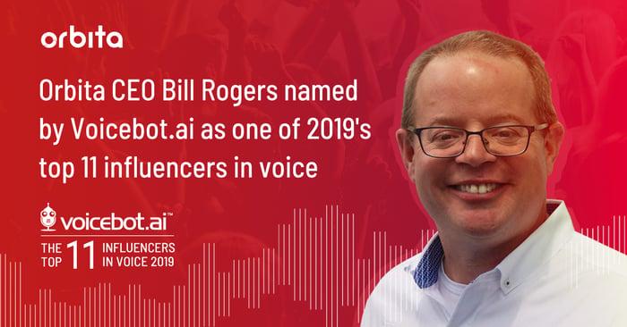 Congratulations to Orbita CEO Bill Rogers!